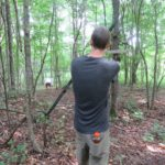 Shooting on the Archery Walkthrough Course