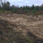 Pond bottom