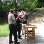 Handgun Range during open house4