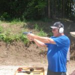 Open House handgun shooting