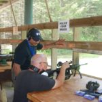 Open House rifle shooting
