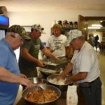 Fish fry at Sponsors Day