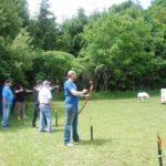 Shooting on the Practice Range
