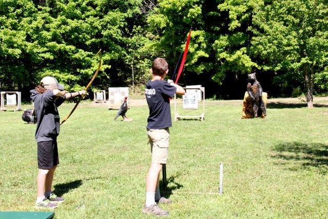 Youth Expo Archery acitvities