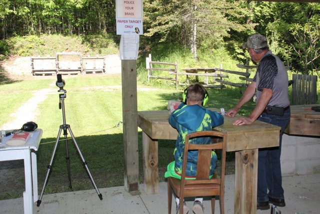 Youth Expo shooting activities