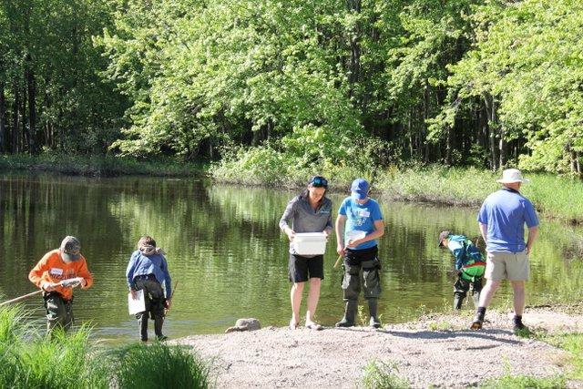 Youth Expo aquatic studies