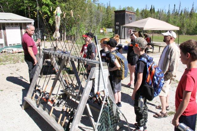 Youth Expo fishing activity