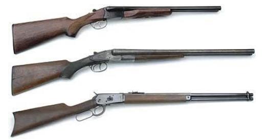 black powder rifles