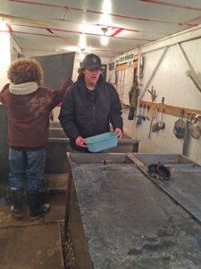 Hatchery maintenance